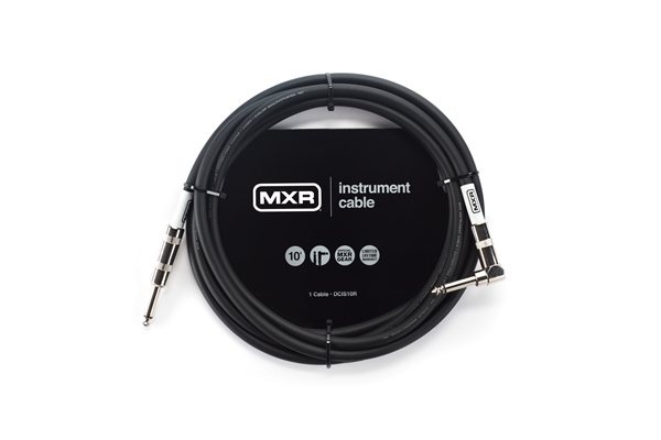 MXR DCIS10R CAVO STRUMENTO STANDARD, 3 METRI ANGOLATO