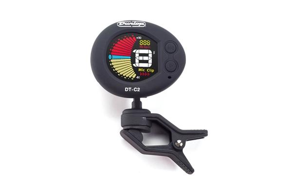 Dunlop DT-C2 Headstock Tuner Deluxe