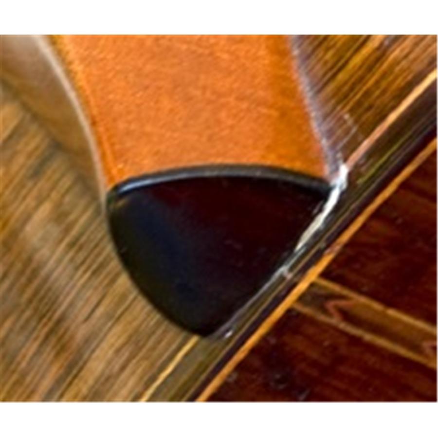 Martin & Co. HPL21 HEELPLATE BLK Cover Tacco retro manico Colore Nero