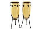 "Natal  10"" & 11"" congas w/ basket stands green"