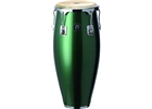 "Natal  11""&12"" congas w/ basket stands metallic green"