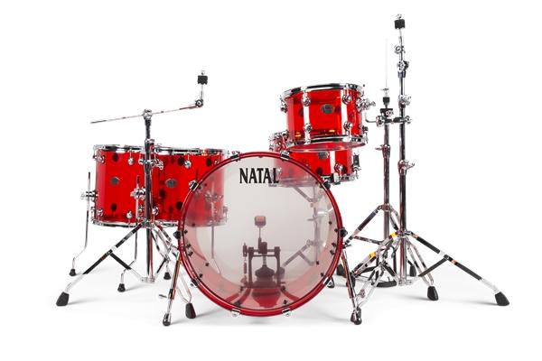 NATAL ARCADIA ACRYLIC A2 SET TRANSPARENT RED