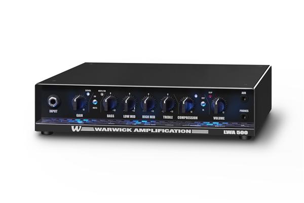 Warwick LWA500 Lightweight 500 Watt,1 canale, Black