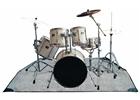 Rockgear Rb 22200 b tappeto per batteria 160x200