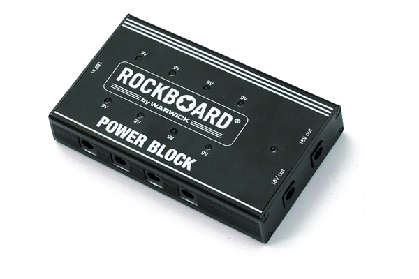Rockbag Alimentatore Power Block, 10 uscite, 2000 mA
