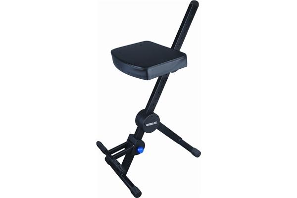 Quik lok dx sgabello con seduta e appoggiapiedi cherubini