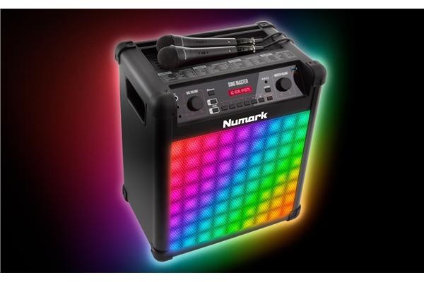 Numark SINGMASTER SISTEMA AUDIO & LUCI COMPLETO PER KARAOKE - Dj Equipment Cd Player e Set Completi