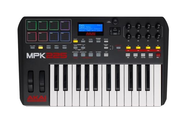 Akai Professional MPK225 - Dj Equipment Tastiere Midi USB