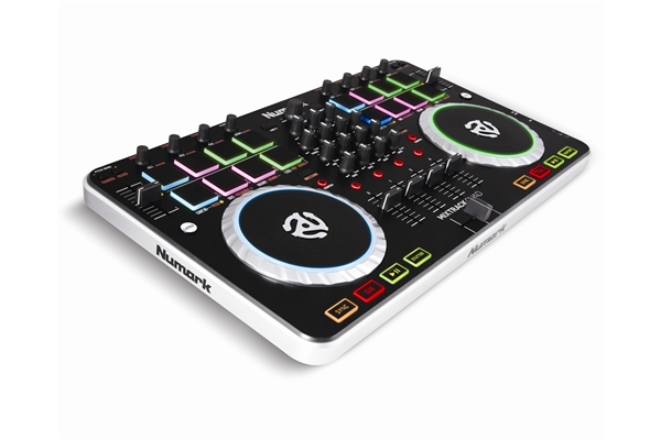 Numark Mixtrack Quad, Midi Controller USB a 4 deck con interfaccia audio