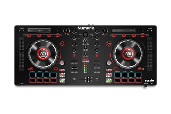 Numark MIXTRACK PLATINUM: DJ CONTROLLER USB 4 DECK CON SCHEDA AUDIO