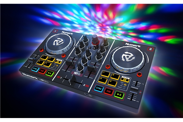 Numark Party Mix DJ - Controller entry level con effetti luce integrati - Dj Equipment Controller Dj