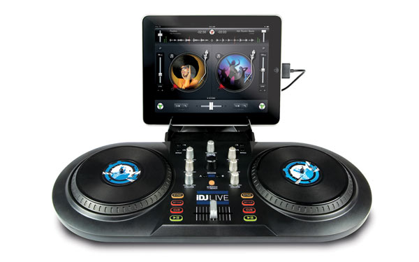 Computer DJing Numark NUMARK iDJLIVE CONTROLLER