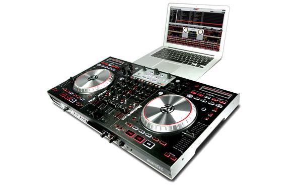Computer DJing Numark NUMARK NS6 CONTROLLER