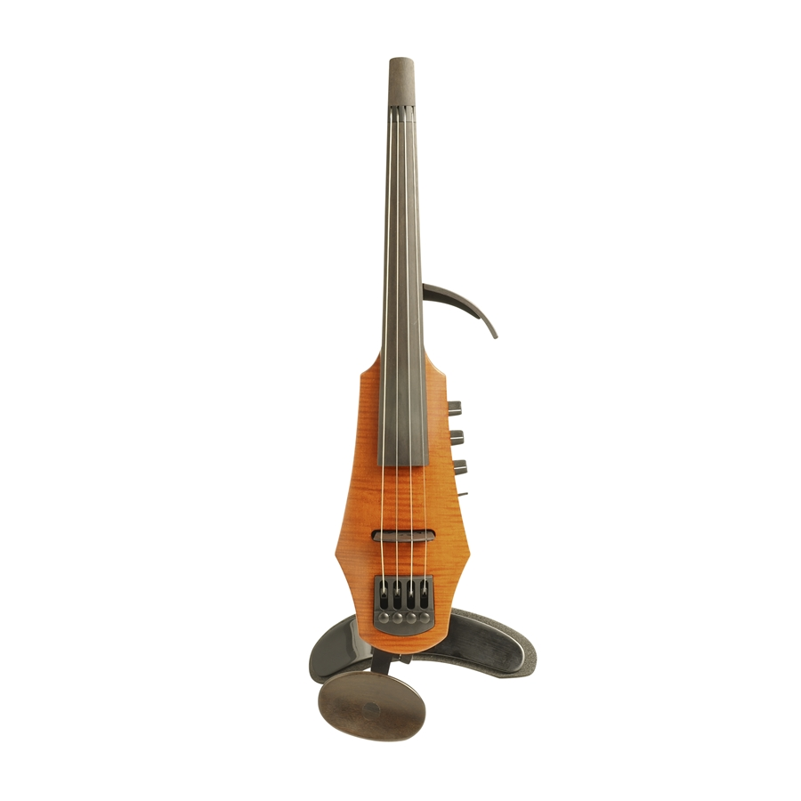 NS DESIGN CR ELECTRIC VIOLIN 4 AMBER STAIN