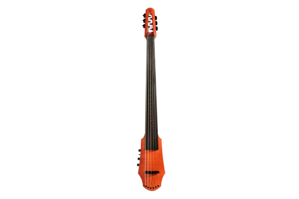 NS Design CR Electric Cello 6 Amber Stain