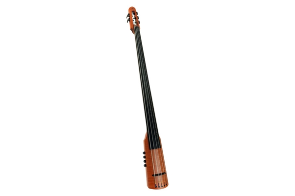 NS Design CR Electric Upright Bass 4 Amber Stain