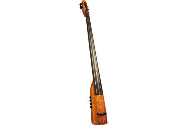 NS Design CRT Electric Upright Bass 4 Amber Stain