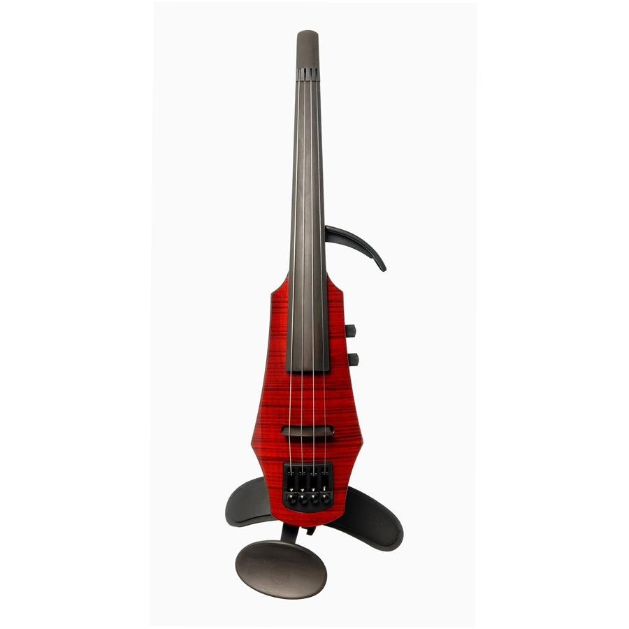 NS Design WAV Electric Violin 4 Trasparent Red