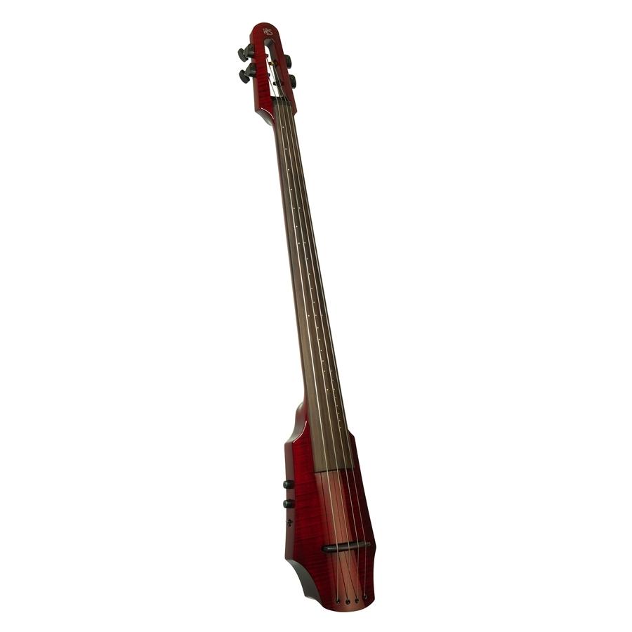 NS Design WAV Electric Cello 4 Transparent Red