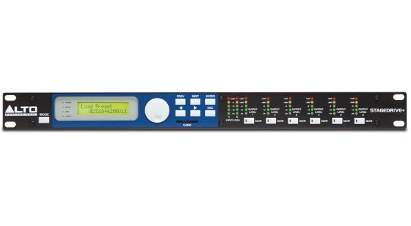 Alto Professional STAGEDRIVE+ - Voce - Audio Outboard ed Effetti - Processori di segnale