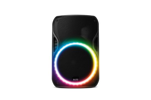 Alto Professional Truesonic TSL115 cassa bi-amplificata con corona di LED - Voce - Audio Casse e Monitor - Diffusori Attivi