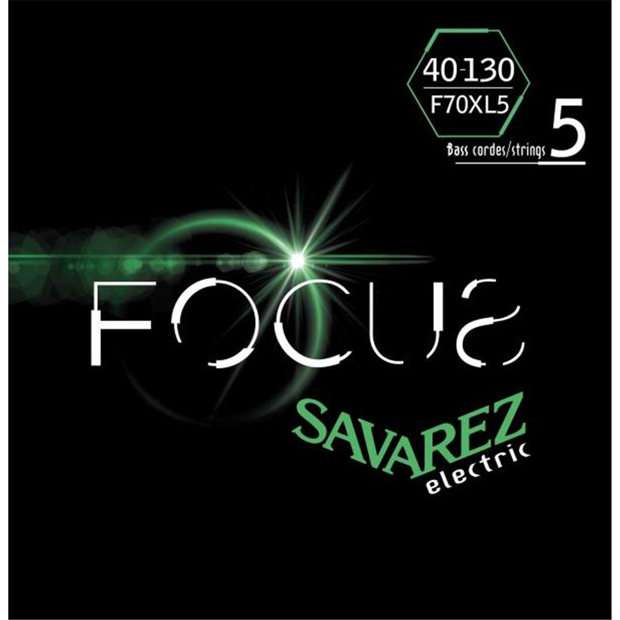 SAVAREZ F70XL5 CORDE FOCUS PER BASSO ELETTRICO 40-130, SET/5