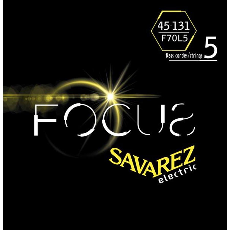 SAVAREZ F70L5 CORDE FOCUS PER BASSO ELETTRICO 45-131, SET/5