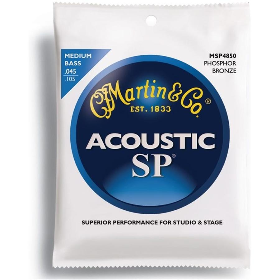 Martin & Co. MSP4850 SP Acoustic Bass Medium Phosphor Bronze 45-105