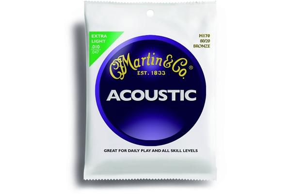 Martin & Co. M170 - Muta per chitarra acustica extra light: