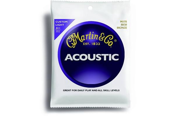 Martin & Co. M175 - Muta per chitarra acustica custom light: