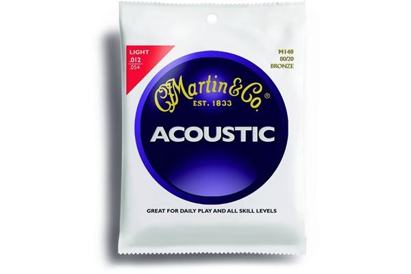 Martin & Co. M140 - Muta per chitarra acustica light: