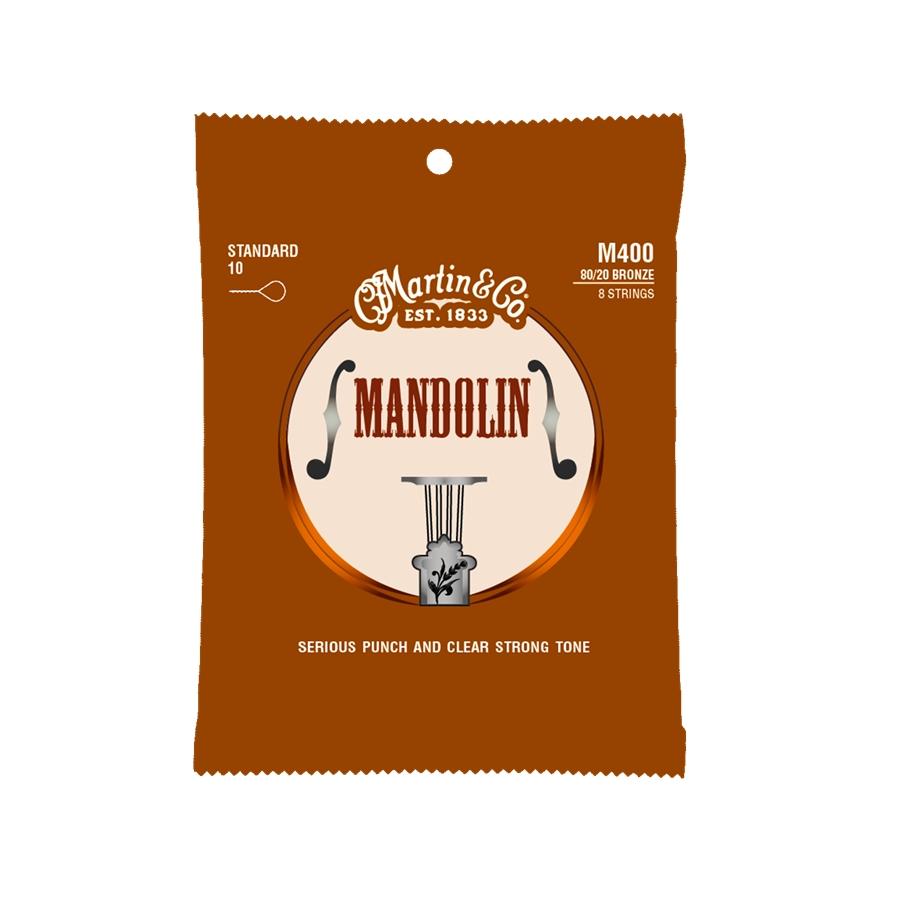 Martin & Co. M400 Mandolin Strings Standard 80/20 Bronze