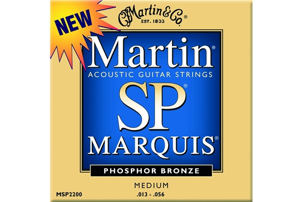 Martin & Co. MSP2200 - Muta per chitarra acustica medium