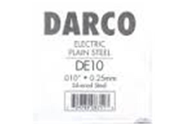 DE10 - Ricambio, Elec .010 Ind,Silvered Steel