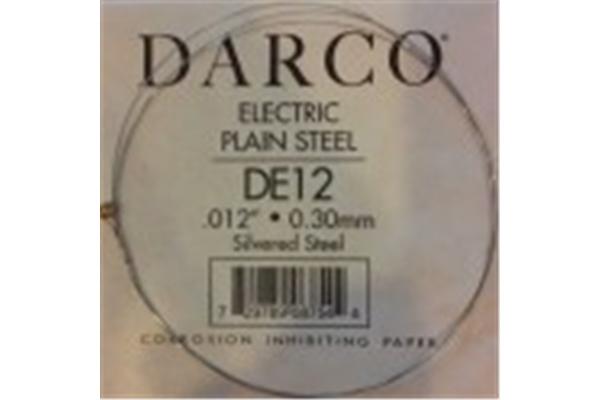 DE12 - Ricambio, Elec .012 Ind,Silvered Steel
