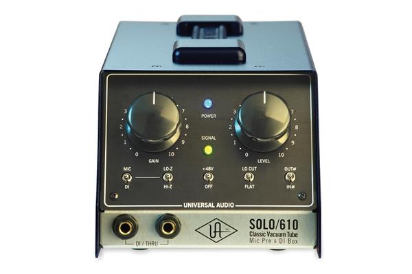Universal Audio Solo/610 Classic Vacuum Tube mic pre & DI - Voce - Audio Outboard ed Effetti - Processori di segnale