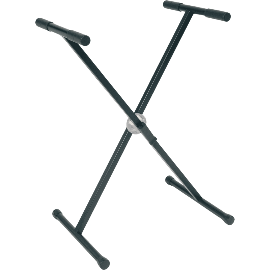 RTX RX20-B STAND A X PER TASTIERA PESANTE TELAIO SINGOLO BALL LOCK NERO
