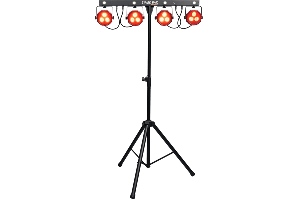 ALGAM STAGE-BAR SET ILLUMINAZIONE PAR LED DMX