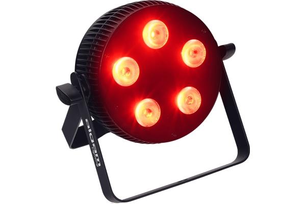 ALGAM SLIMPAR-510-QUAD PROIETTORE PAR LED 5 X 10W RGBW