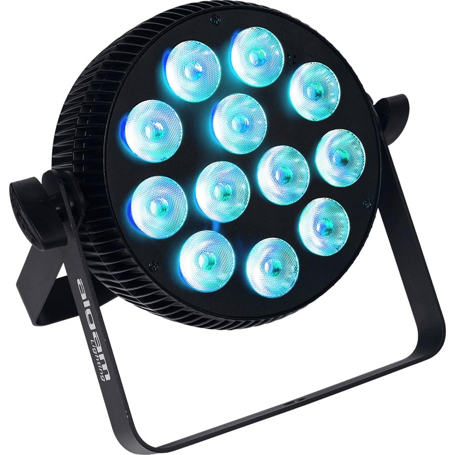 ALGAM SLIMPAR-1210-QUAD PROIETTORE PAR LED 12 X 10W RGBW