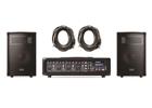 Alesis PA SYSTEM IN A BOX: SISTEMA COMPLETO MIXER/PLAYER MP3 AMPLIFICATO & DIFFUSORI