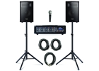 Alesis Pa system with stands