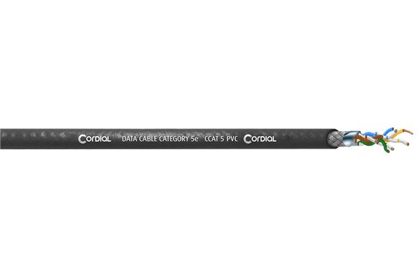 CORDIAL CCAT 5 PVC BLACK 100