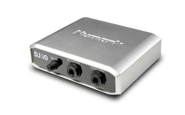 Numark DJ I/O: scheda audio USB 2.0. 2 stereo out RCA. Mic in. uscita cuffie - Dj Equipment Controller Dj
