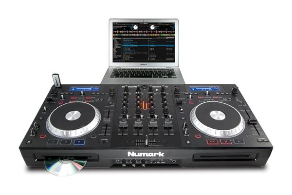 Computer DJing Numark MIXDECK-QUAD