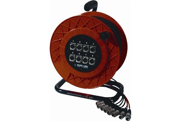 Quik Lok AVPL112 Prolunga per segnale audio 6 Input / 2 Output