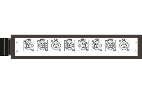 Quik Lok BOX300 Stage Box Serie MP 8 Input bilanciati