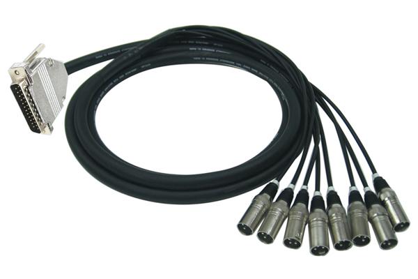 Quik Lok TTA/258XM-N Cavo per collegamento a multitraccia D-SUB Analogico/Digitale