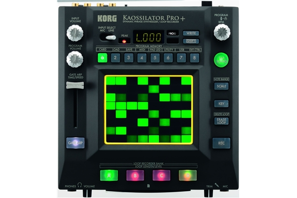 Korg KAOSSILATOR PRO+: Synth touch pad, con loop e interfacciamento MIDI