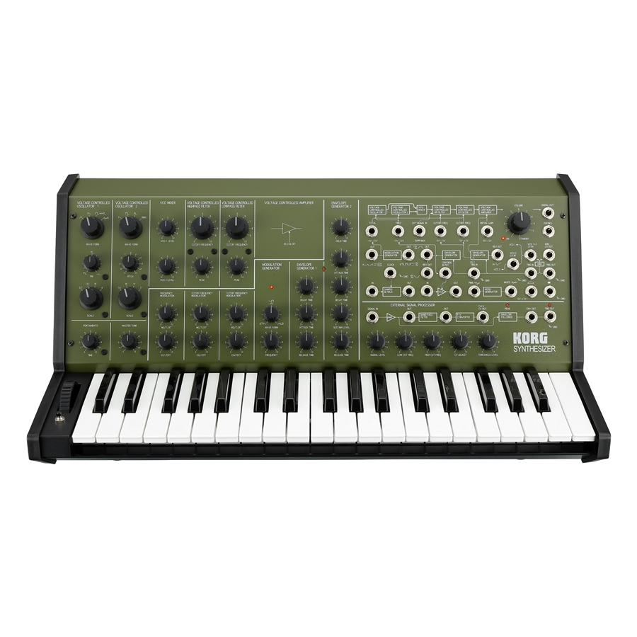 KORG MS-20 FS - SPECIAL EDITION GREEN